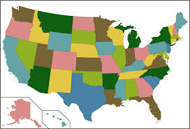 empty usa map united states blank map coloring the four color theorem color us
