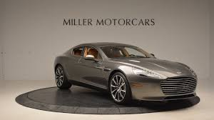 matte black aston martin 2017 aston martin rapide s shadow edition stock a1256 for sale