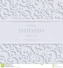 Christmas Invite Cards Vector White 3d Vintage Christmas Or Invitation Cards Background