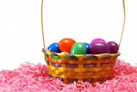 easter egg basket plastic easter eggs in basket craftshady craftshady