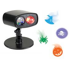 Led Outdoor Halloween Decorations by Projector Holiday Brilliant Halloween Projection U0026 Spot Lights