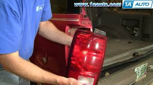2001 ford f150 tail light assembly how to install replace taillight ford expedition 97 02 1aauto com
