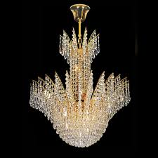 crystal ceiling lights modern arrow decorative 8 light ceiling crystal chandelier in gold