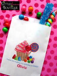personalized goodie bags personalized candy bags oh sweet candy favor bags candy