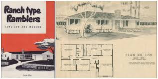 House Plans Rambler 1950 Small House Plans House Interior