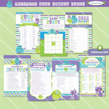 inc baby shower ideas monsters inc baby shower printables baby shower