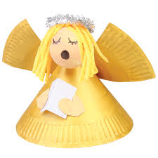 paper plate angel cleverpatch