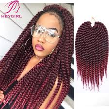 medium size packaged pre twisted hair for crochet braids wholesale discount pre braided box braids xpression hair extension