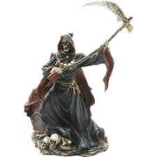 statues grim reaper figurines and grim reaper statues by