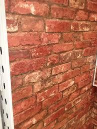 b u0026q brick wallpaper master bedroom accent wall paint it black