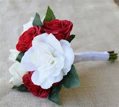 gardenia bouquet touch roses and white roses with gardenia bouquet