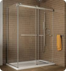 48 Shower Doors Fleurco Ngu48 Gemini Frameless Bypass 48 Sliding Shower Doors With