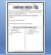using our social skills video lessons plus new worksheets