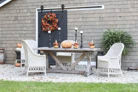 Fall Patio Autumn Patio With Balsam Hill Rooms For Rent Blog