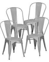 Tolix Bistro Chair Bargains On Adeco Tolix Style Matte Silver Grey Metal Dining