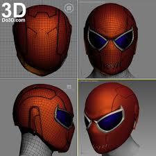 3d printable model variant spider man helmet do3d print file