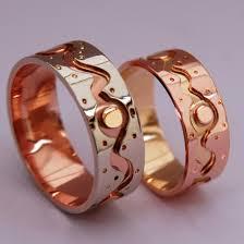 Native American Wedding Rings by Native American Ojibwe Wedding Rings Free Moving Spirits Fisher
