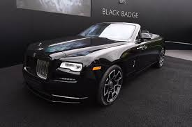 chrysler rolls royce rolls royce dawn black badge arrives at goodwood auto express
