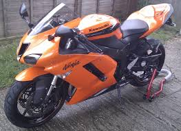 my motorbike is for sale 2007 kawasaki ninja zx6r wildfire orange
