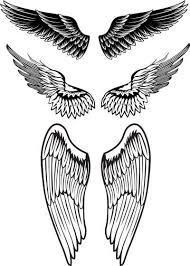tattoos sleeves cross wings meaning