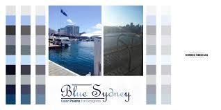 blue color palette blue sydney color palette for designers by dumiduneeshan on