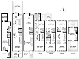 best townhouse floor plans enchanting 4 new york townhouse floor plans 17 best images about