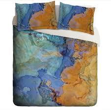 Dark Blue Duvet Abstract Art Blue Duvet Covers U2013 Abstract Art Home