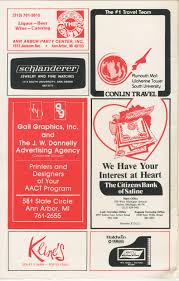 Madeline Leidy Ann Arbor Civic Theatre Program Pippin April 27 1983 Ann