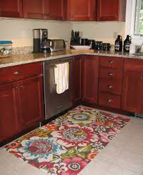 furniture lovely floral rugs decoration on ceramic tile floor as