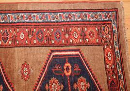 Corner Runner Rug Antique Tribal Bidjar Runner Rug 42390 Nazmiyal Antique Rugs