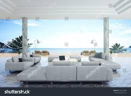 styles of interior design 3d rendering illustration interior living room stock illustration
