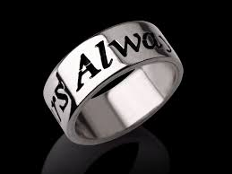 Name Rings Silver Silver Name Ring Italic Hand Style