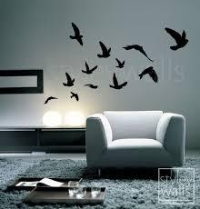 Home Decor For Walls Best 25 Bird Wall Decals Ideas On Pinterest Bird Wall Art Tree