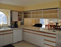 how to remove kitchen cabinets home and interior