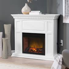 Electric Fireplace With Mantel Belham Living Roanoke 23 In Convertible Led Electric Fireplace