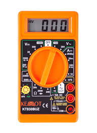 Esszimmerst Le Barock Lcd Digital Multimeter Strom Messgerät Voltmeter Voltmeter Ac Dc