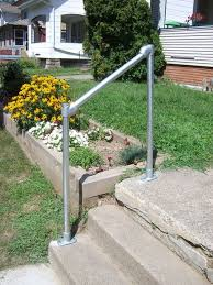How To Build A Banister For Stairs How To Build A Simple Handrail 7 Steps With Pictures