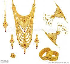 gold rani haar sets 22k exclusive bridal set ajns55340 22k gold designer