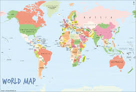 India On World Map Buy World Wood Map Online At India Map Store World Wood Map