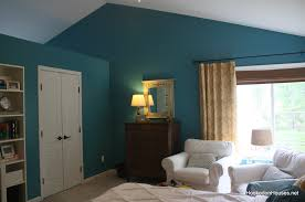 simple attic bedroom decors added teal and white themes for best