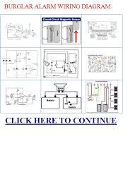burglar alarm wiring diagram bell burglar alarm wiring diagram