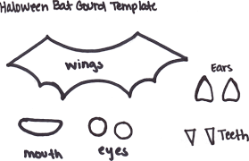 Halloween Bat Cutouts by Halloween Crafts Templates Virtren Com