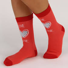 valentines socks s day socks i heart you 4 pack soxx