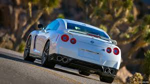 nissan gtr hd wallpaper 2014 nissan gt r pearl white rear hd wallpaper 8