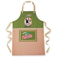 tablier de cuisine original femme tablier de cuisine femme libérée en 100 coton idée cadeau