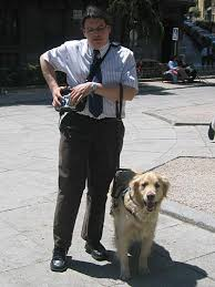 How Does A Guide Dog Help A Blind Person Gps To Help The Blind Navigate Wired
