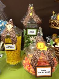 Baby Shower Candy Buffet Pictures by Best 25 Safari Candy Buffet Ideas On Pinterest Safari Candy