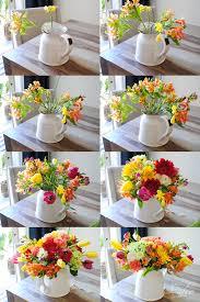 How To Make Floral Arrangements An Easy Diy Floral Arrangement For Spring