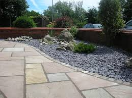 paved gardens designs ideas