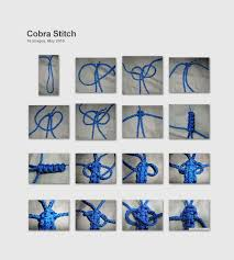cobra knot bracelet images Dragout 39 s blog how to tie the cobra stitch jpg